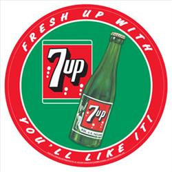 7UP Fresh Up With (round)