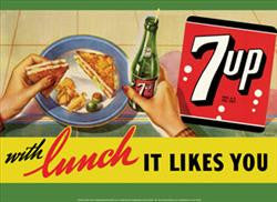 7Up with Lunch