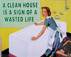 A Clean House...Wasted Life