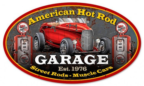 "American Hot Rod (24"" oval)"