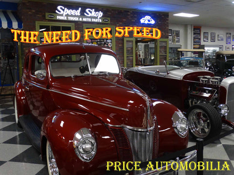 Speed Shop The Need for Speed Metal Sign