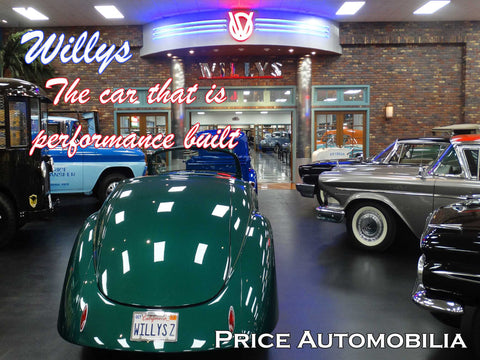 Willys Dealership - Performance Built Metal Sign