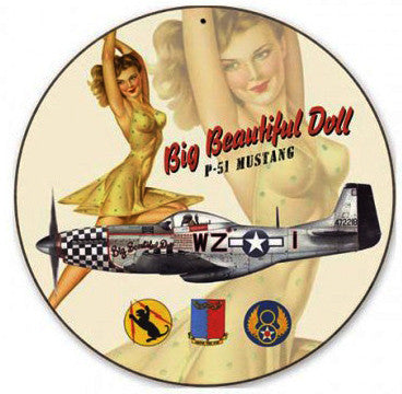 Big Beautiful Doll-P51 Mustang