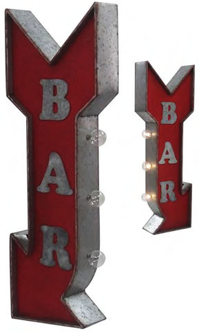 Bar LED Flange Sign