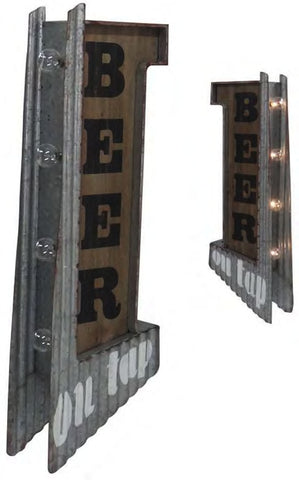 Bar On Tap LED Flange Sign