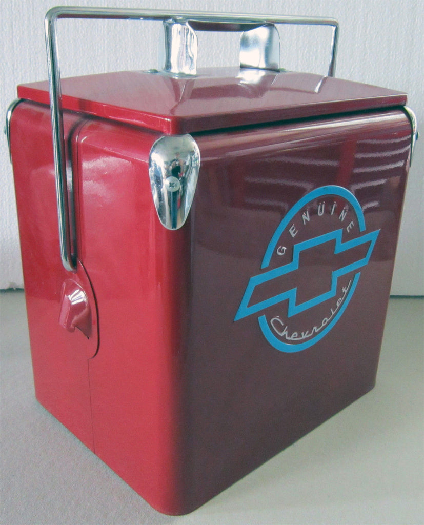 Chevrolet Red Six Pack Cooler