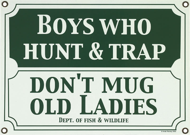 Boys Who Hunt & Trap