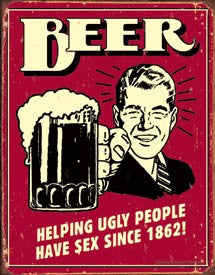 Beer-Helping Ugly People