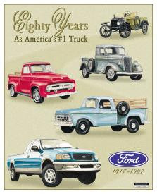 Ford - 80 yrs. Of Pickups