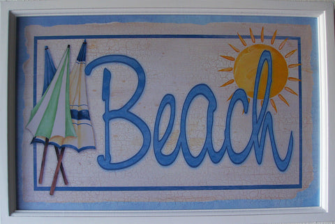 Beach Pub Sign (6 pub plates)