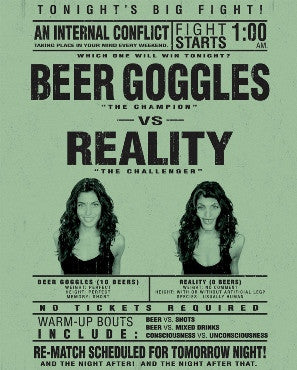 Beer Goggles vs Reality