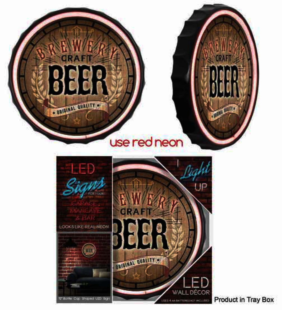 Brewery Craft Beer LED Rope Neon Sign