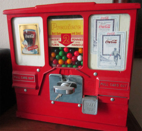 Premiere 2c Gum & Card Dispenser