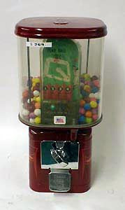LilLeague Skill Game/Gum Dispenser