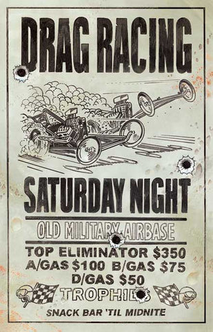 Drag Racing Old Military Airbase