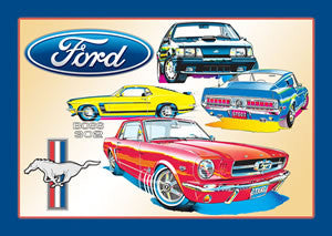Ford - Mustang Collage