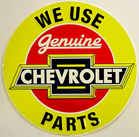 Chevrolet - Genuine Parts 24""