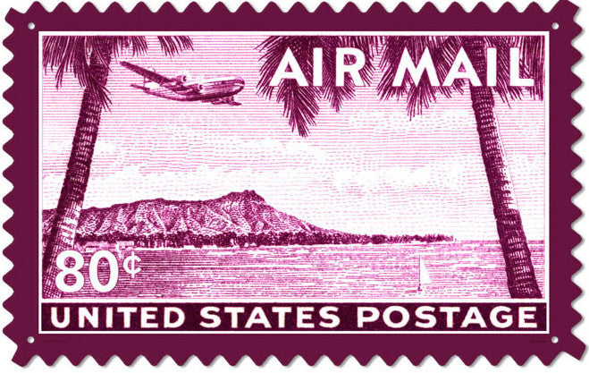 Air Mail 80c Hawaii (large)