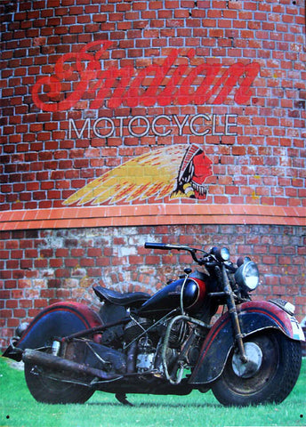 Indian Motorcycle (rustic)