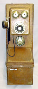 Italian Double Island Wall Telephone