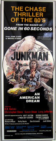 Junkman Movie Poster ( Laminated )