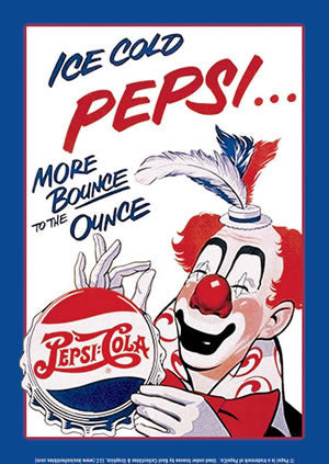 Ice Cold Pepsi... Clown