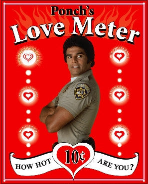 Ponch's Love Meter (disc)