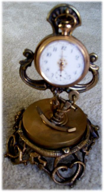 Anchor Pocket Watch Frame