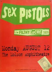 Sex Pistols Lucre (lot of 10) unit cost $2.00