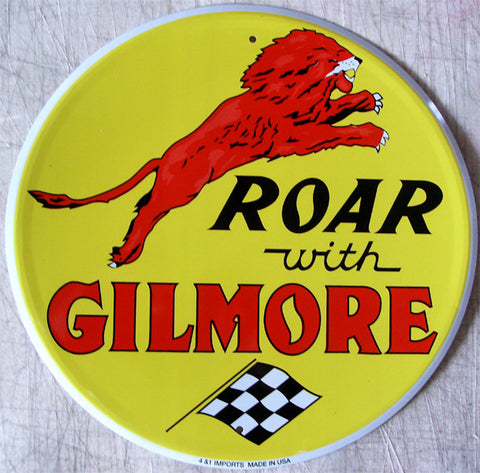 "Roar with Gilmore (12"" round)"