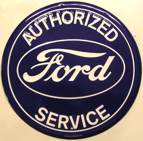 Authorized Ford Service (round)