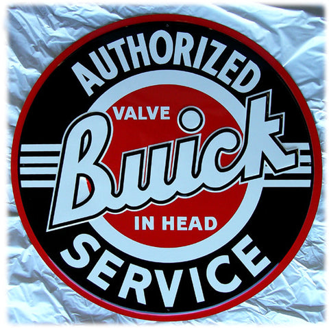 "Buick-Authorized Service (24"" diam)"