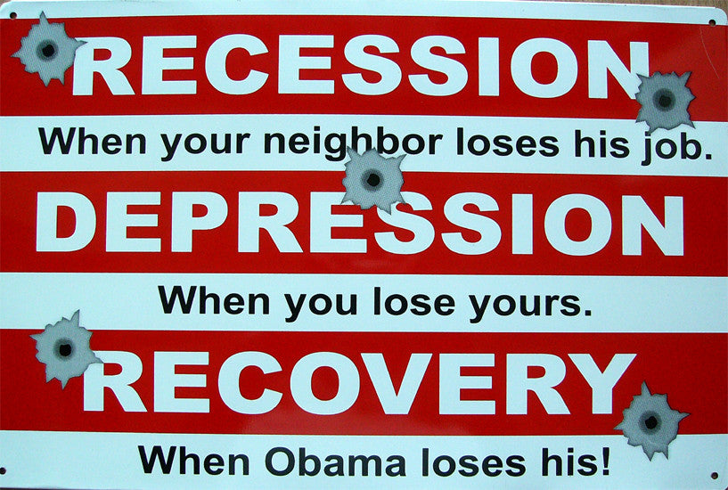 Recession-Depression-Recovery