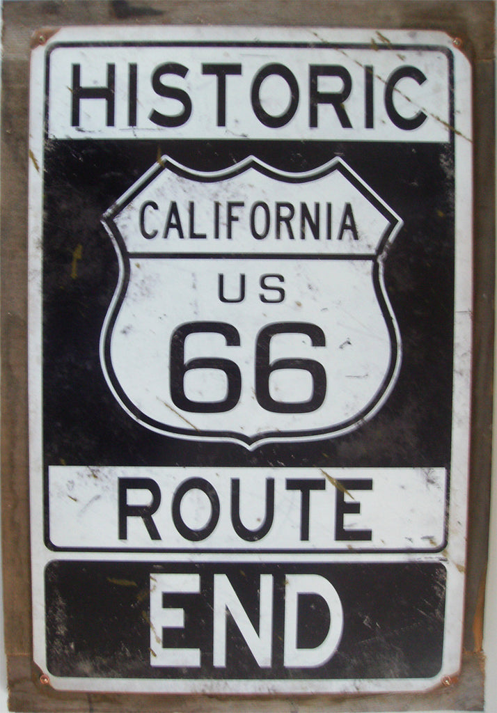 Historic 66-California Route End