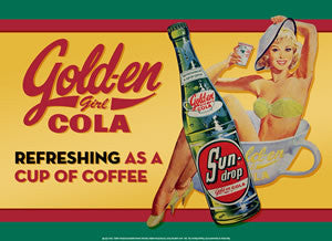 Golden Cola-Girl