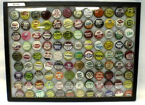 Soda Bottle Cap Collection