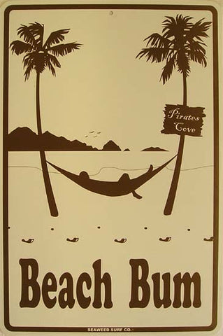 Beach Bum (beige/brown)