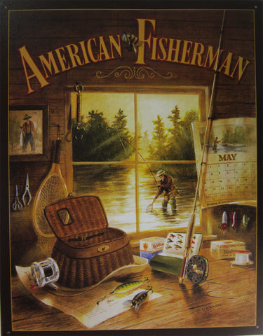 American Fisherman Sign