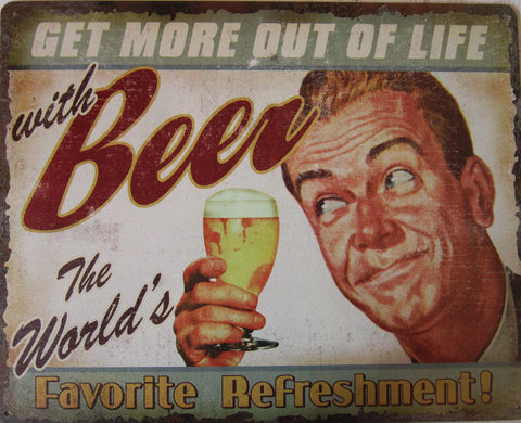 Beer-Favorite Refreshment
