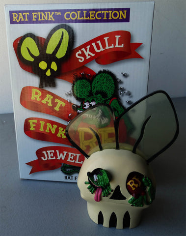 Rat Fink Skull Jewelry Box