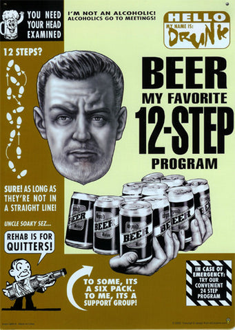 Beer  12-Step Program