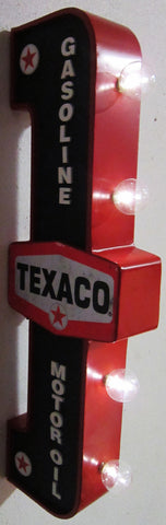 Texaco LED Flange Sign