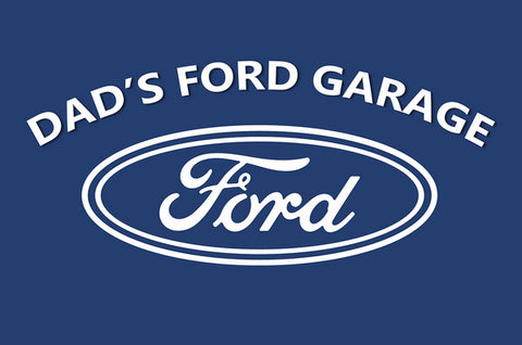 Dad's Ford Garage