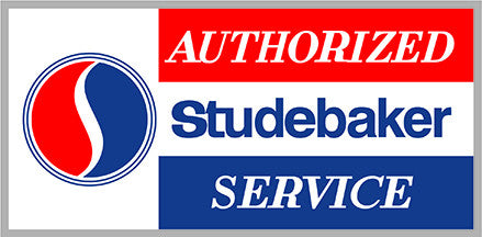 Authorized Studebaker Service 30""