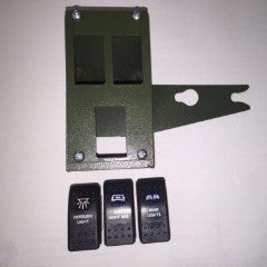 24V Toggle Switches for Military HUMVEE