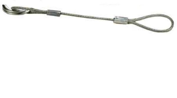 Cable Lanyard for Humvee brush Guard Pin - (Pin Sold Separately)