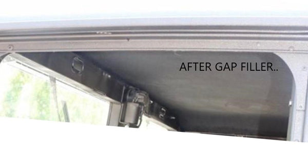 HUMVEE X-DOOR GAP FILLER KIT - 4 PIECE