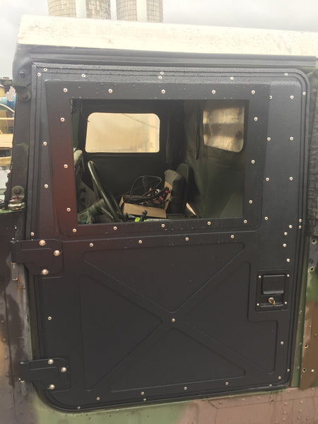 BRAND NEW HUMVEE X-DOORS - SET OF 4 - BLACK, TAN OR GREEN - HARD DOOR