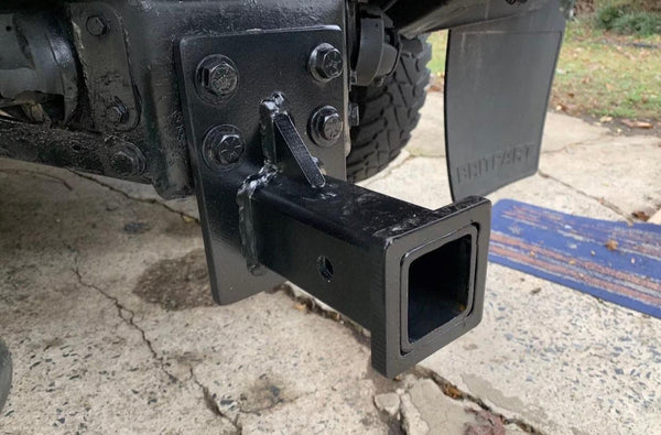 LAND ROVER DEFENDER HITCH - BOLT ON - NO DRILLING REQUIRED