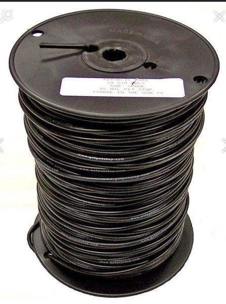 Prestolite military 14 gauge electrical wire - 25', 50', 100' 1000', Options